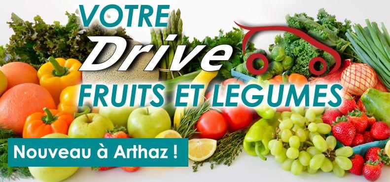 Bornand Primeurs : votre drive fruits et légumes