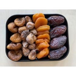 Sélection de fruits secs
