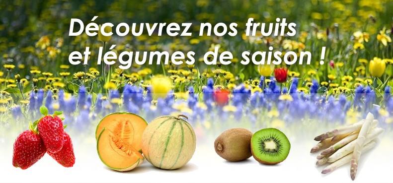 Les fruits et légumes du printemps arrivent !